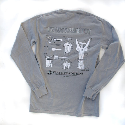Opening Play Long Sleeve T-Shirt Grey