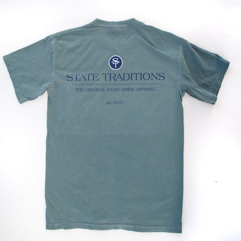 State Traditions Logo T-Shirt Spruce