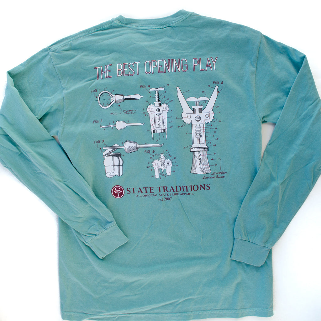 Opening Play Long Sleeve T-Shirt Seafoam