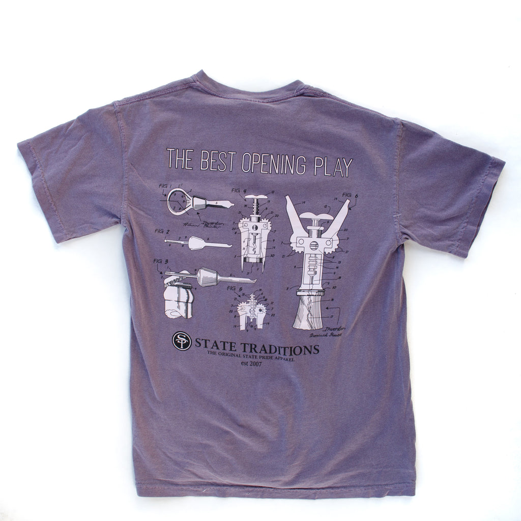 Opening Play T-Shirt Wine