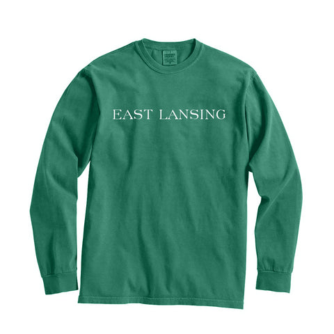 Michigan East Lansing City Series Long Sleeve T-Shirt