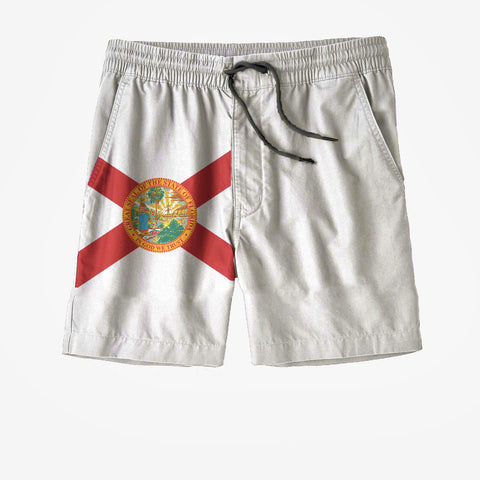 Florida State Flag Swim Trunks
