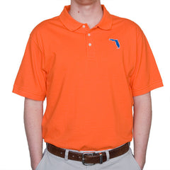 Florida Gainesville Gameday Polo Orange
