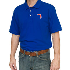 Florida Gainesville Gameday Polo Blue