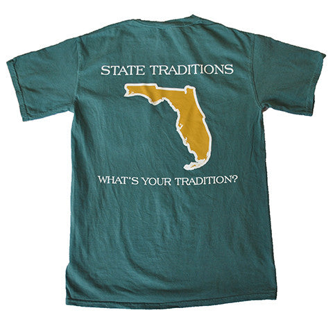 Florida Jacksonville Gameday T-Shirt Emerald