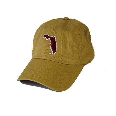 Florida Tallahassee Gameday Hat Gold