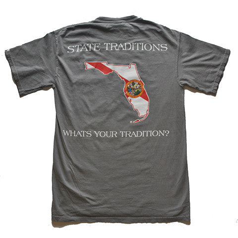 Florida Traditional T-Shirt Grey