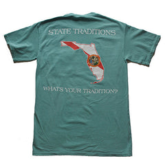 Florida Traditional T-Shirt Seafoam