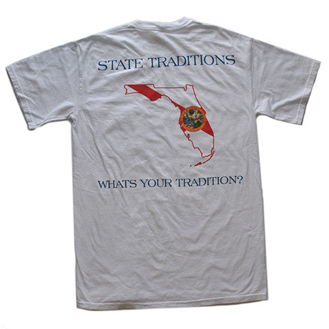 Florida Traditional T-Shirt White