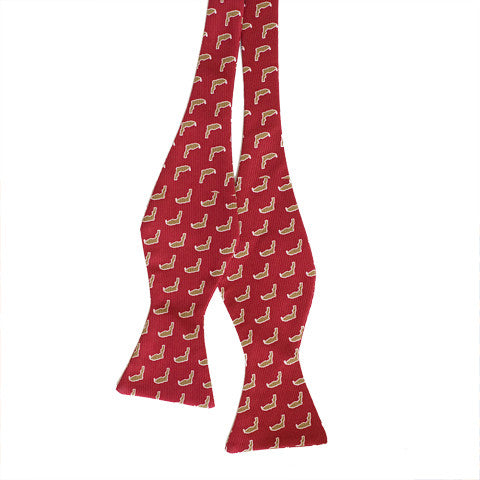 Florida Tallahassee Gameday Bow Tie Garnet