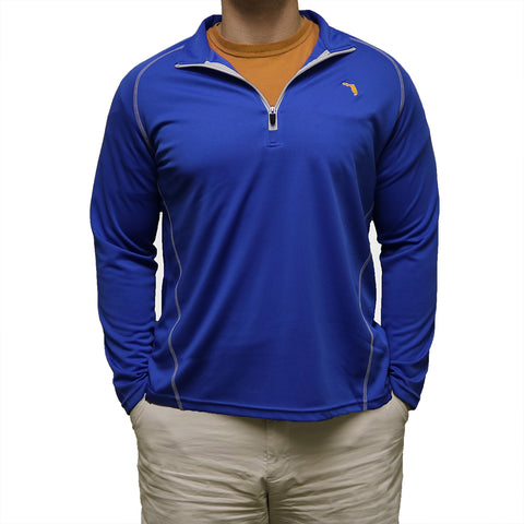 Florida Gainesville Gameday Performance Pullover Blue