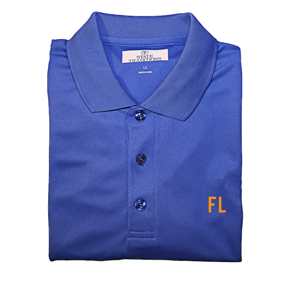 "Florida ""FL"" gameday polo"