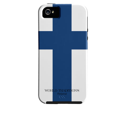 Finland Flag iPhone Case