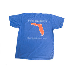 Florida Gainesville Gameday T-Shirt Blue