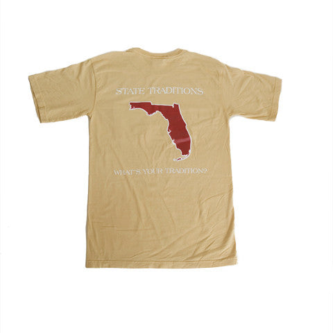 Florida Tallahassee Gameday T-Shirt Gold