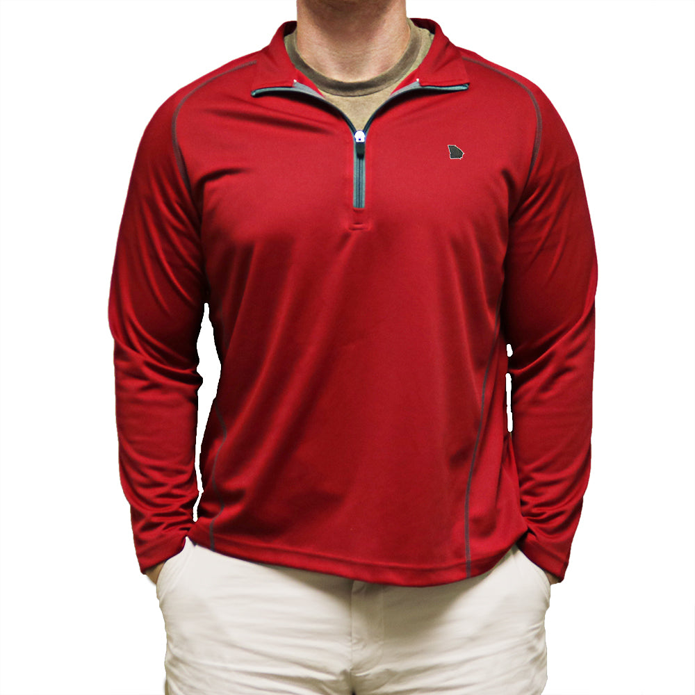 Georgia Athens Gameday Performance Pullover Red