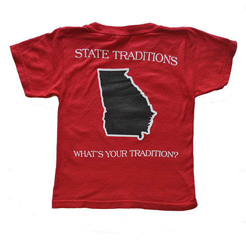 Georgia Athens Gameday Youth T-Shirt Red