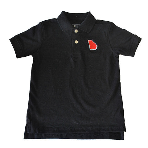 Georgia Athens Gameday Youth Polo Black