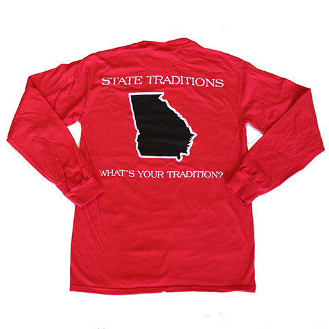 Georgia Athens Gameday Long Sleeve T-Shirt