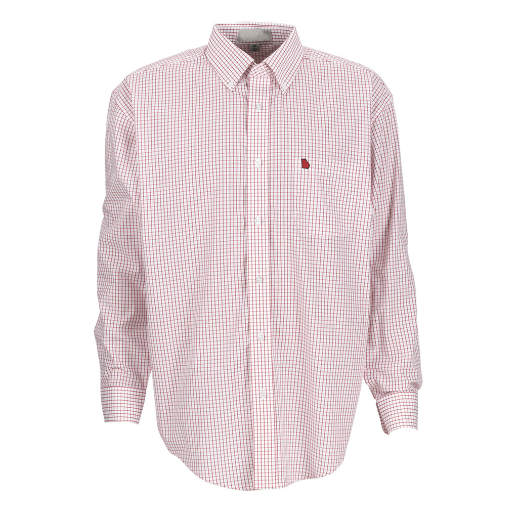 Georgia Athens Gameday McDowell Woven Red