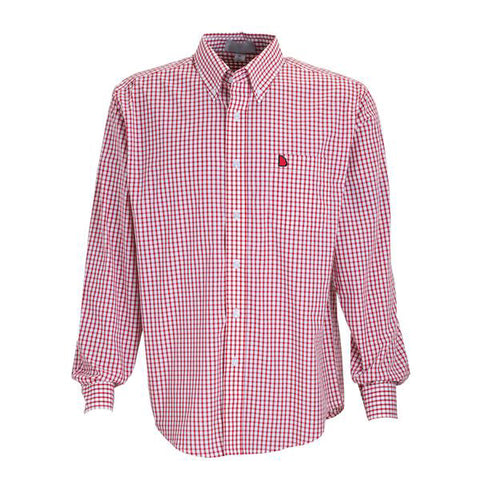 Georgia Athens Gameday Pennington Woven Red