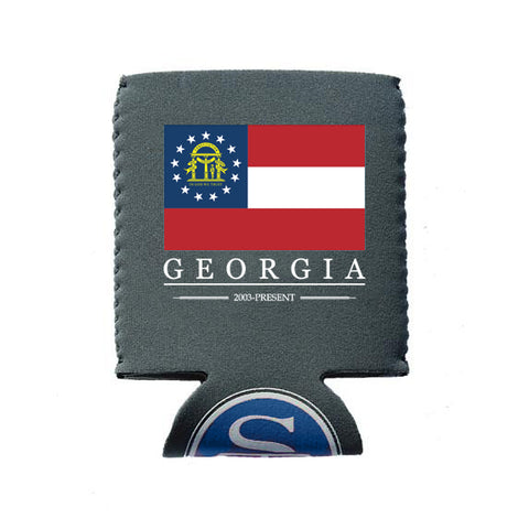 Georgia Flag Koozie
