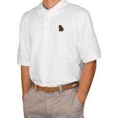 Georgia Atlanta Gameday Polo White