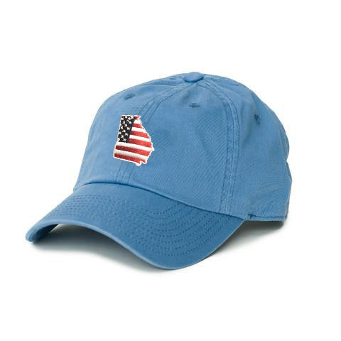 Georgia Patriot Hat Gulf Blue