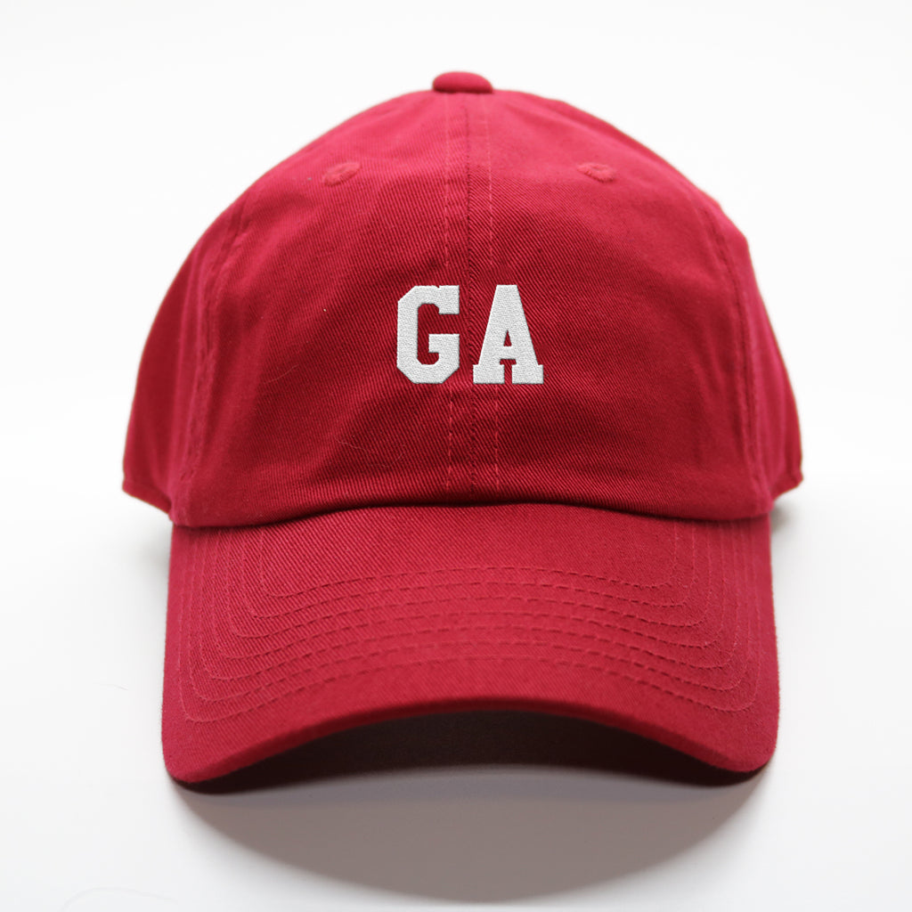 """GA"" Georgia Gameday Letterman Hat"