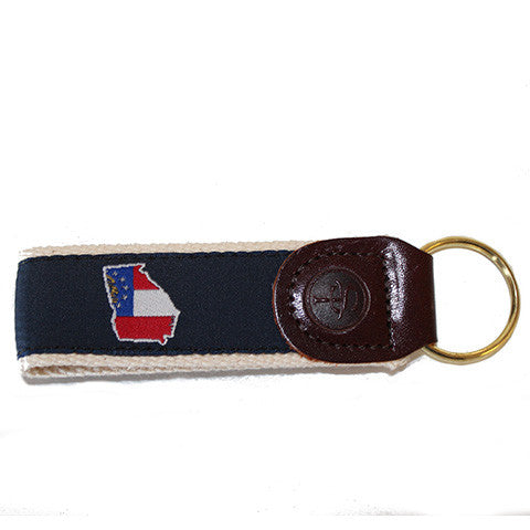 Georgia Traditional Key Fob