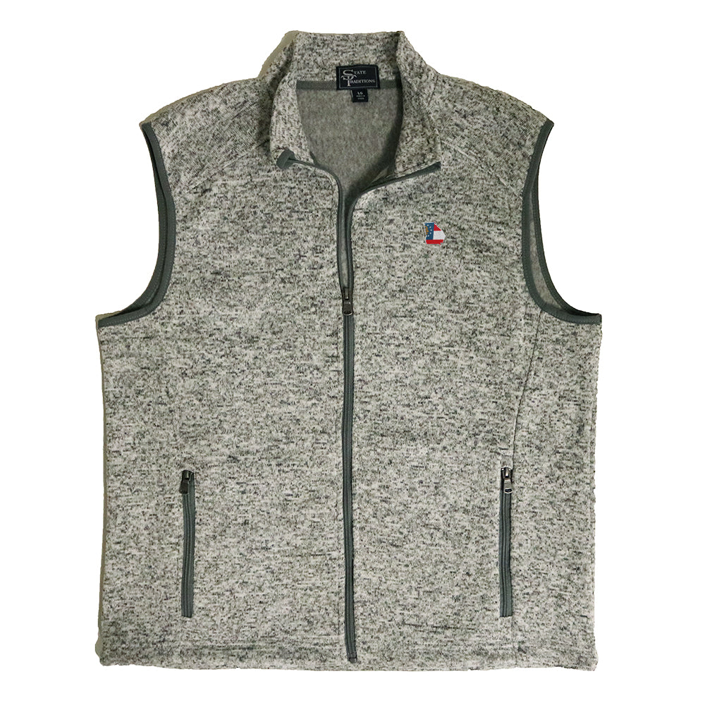 Georgia Traditional Heather Sweater Vest