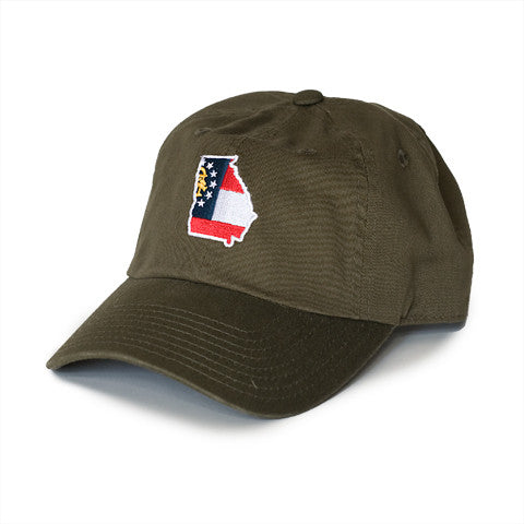 Georgia Traditional Hat Olive