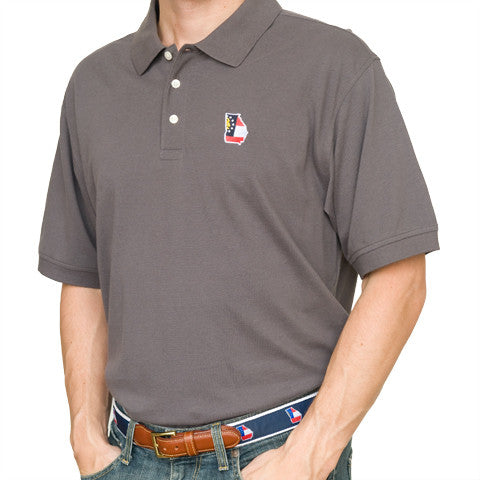Georgia Traditional Polo Grey