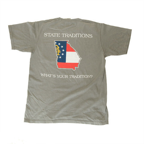 Georgia Traditional T-Shirt Grey