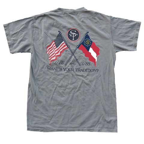 Georgia Heritage T-Shirt Grey