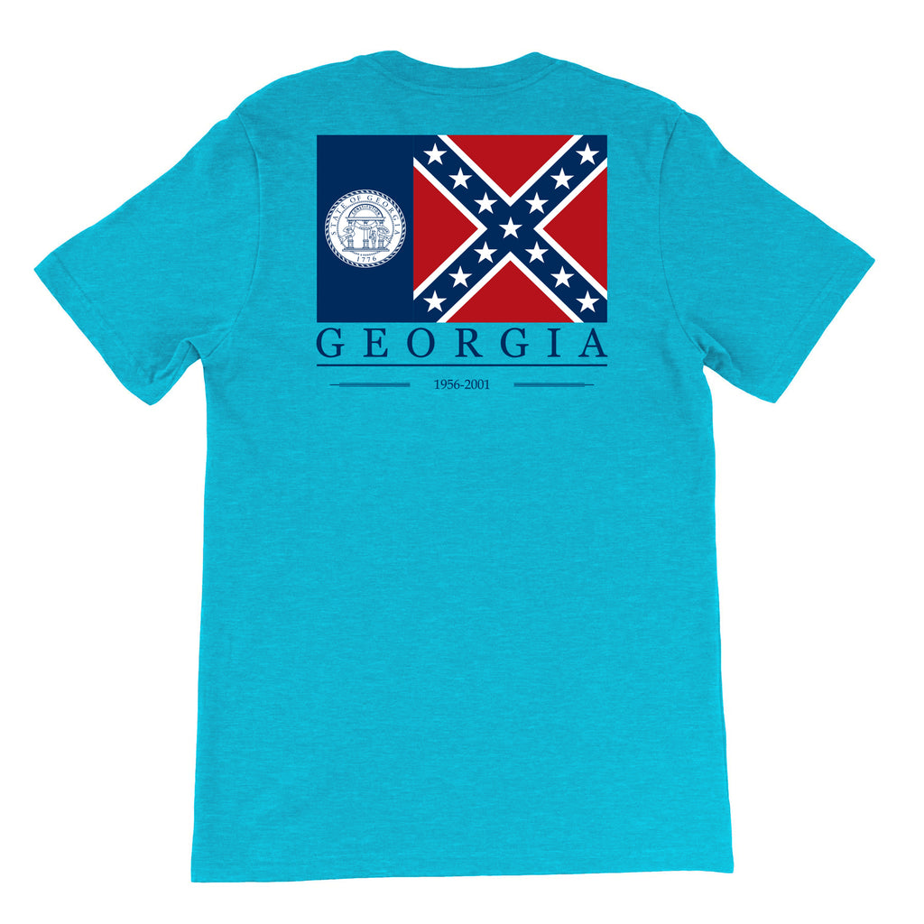 Throwback Georgia State Flag T-Shirt