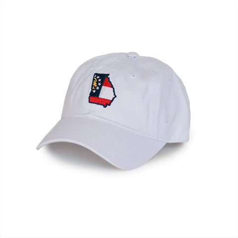 Georgia Traditional Hat White