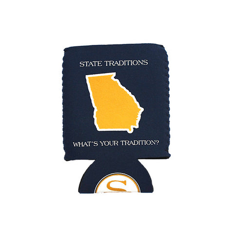Georgia Atlanta Gameday Koozie Navy