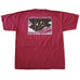 State Traditions Gameday Flyover T-Shirt Garnet and Black