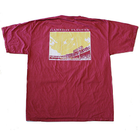 State Traditions Gameday Flyover T-Shirt Garnet and Gold