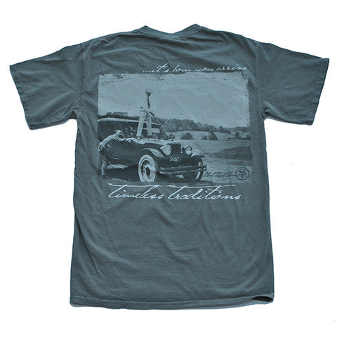 Timeless Traditions Golf T-Shirt Grey