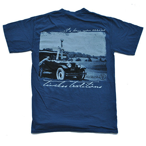 Timeless Traditions Golf T-Shirt Midnight