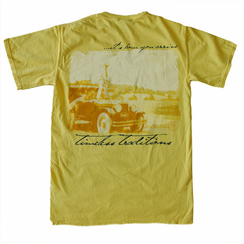 Timeless Traditions Golf T-Shirt Butter
