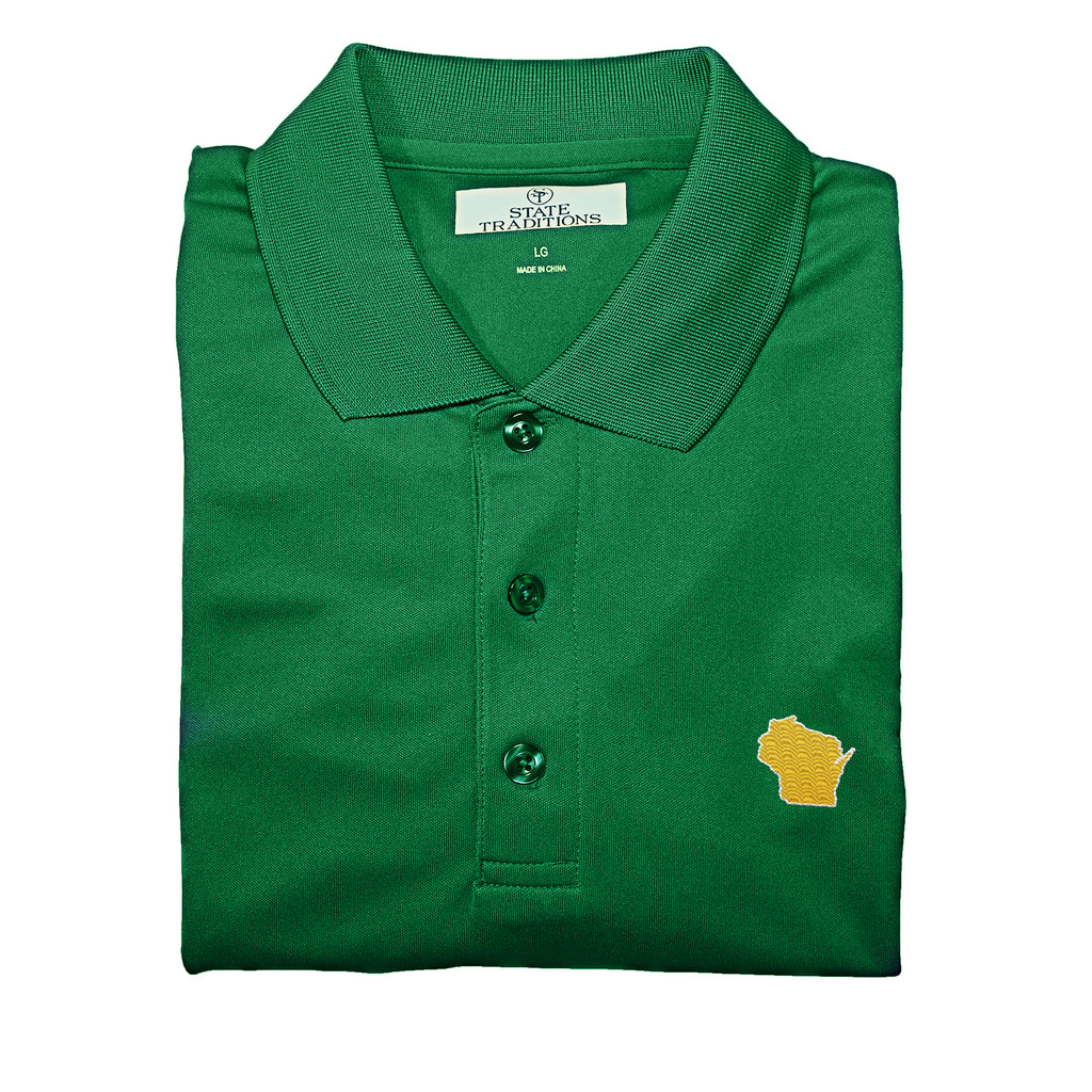 Wisconsin Green Bay Gameday Performance Polo