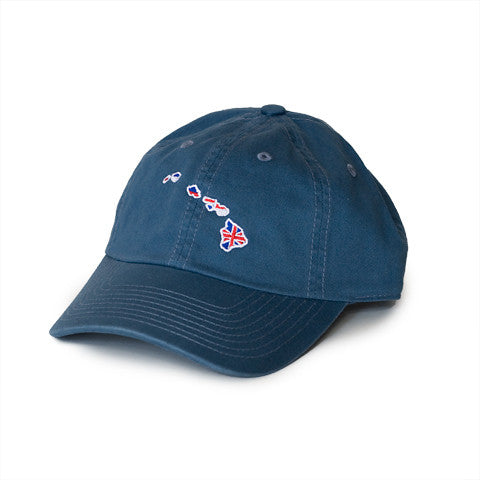Hawaii Traditional Hat Gulf Blue