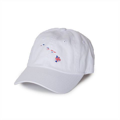 Hawaii Traditional Hat White