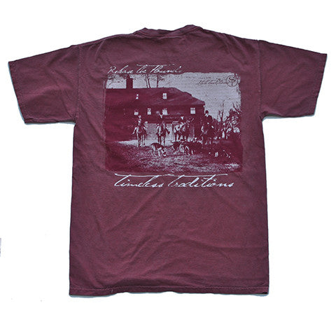 Timeless Traditions Hounds T-Shirt Brick