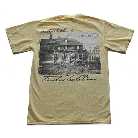 Timeless Traditions Hounds T-Shirt Butter