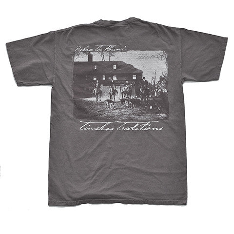 Timeless Traditions Hounds T-Shirt Grey