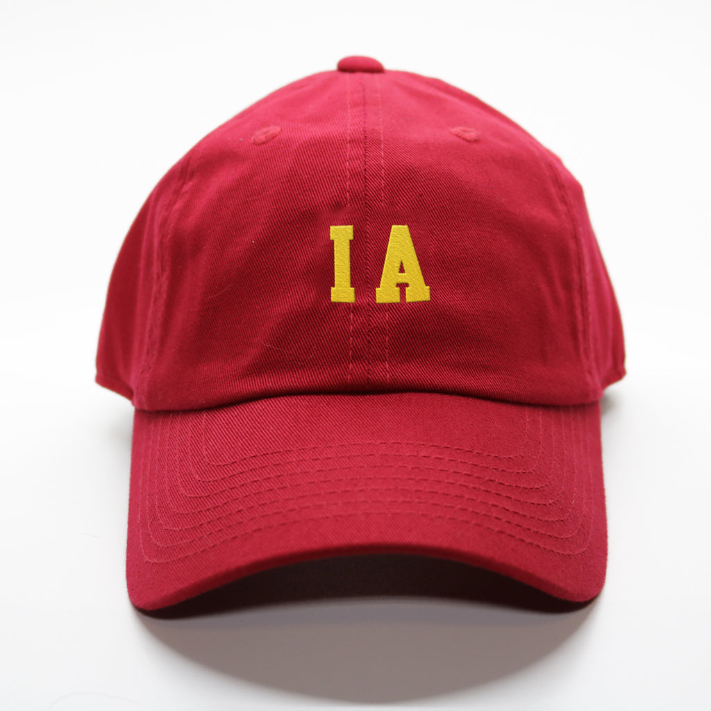 """IA"" Iowa Gameday Letterman Hat"